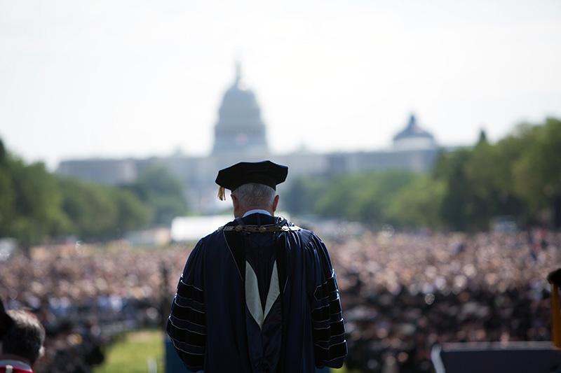 Graduation at George Washington University